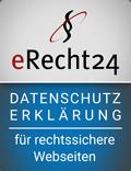 eRecht 24 Datenschutzerklärung - dydocon